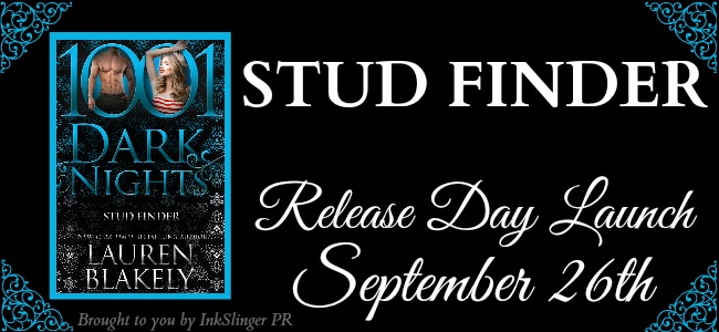 STUD FINDER - A Lauren Blakely Excerpt Reveal & New Release